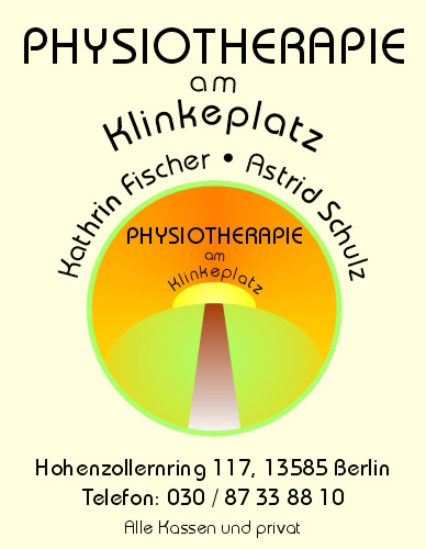 Physiotherapie am Klinkeplatz, Hohenzollernring 117, 13585 Berlin